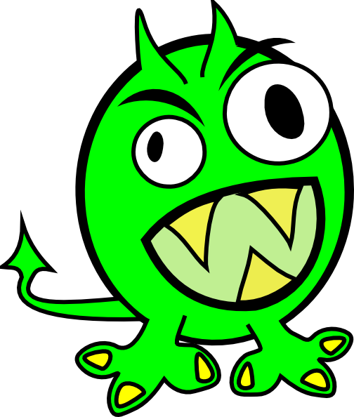 504x594 Free To Share Monster Clipart For Your Project Clipartmonk