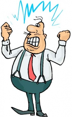 250x402 Angry Person Clip Art Clipart Panda