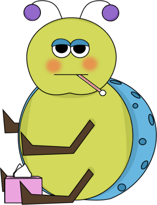 307x400 Sick Flu Bug Clip Art Flu Bug Image Image