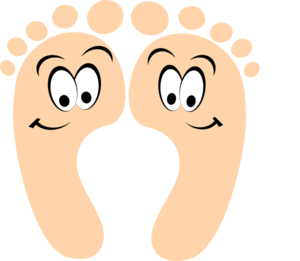 300x261 Happy Feet Clip Art