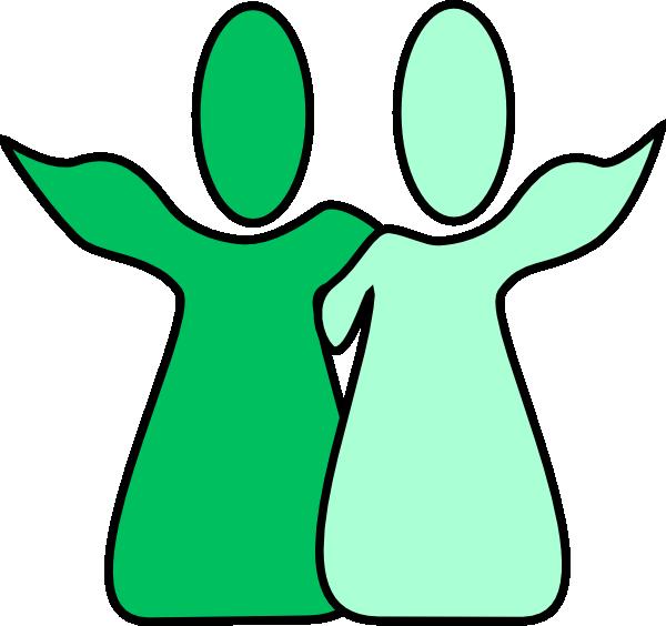 600x564 Fellowship Green Green Clip Art