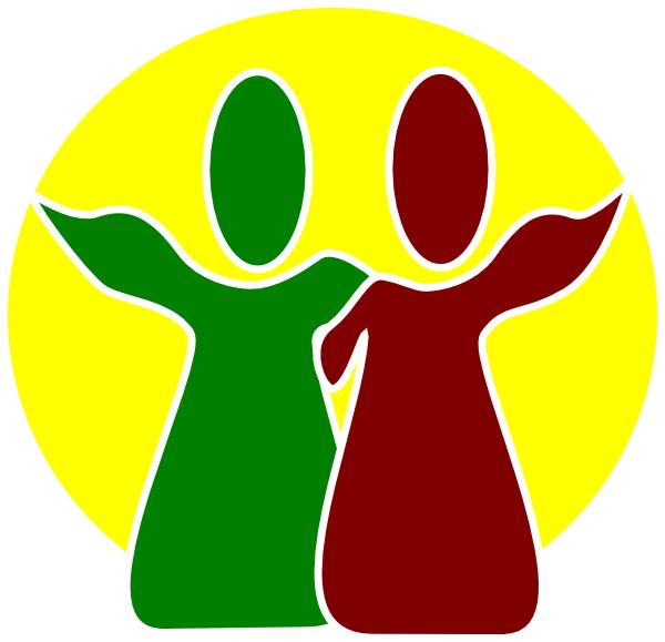 600x579 Fellowship Reggae Clip Art