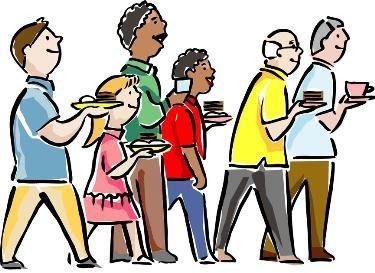 375x273 Fellowship Meal Clip Art Clipart