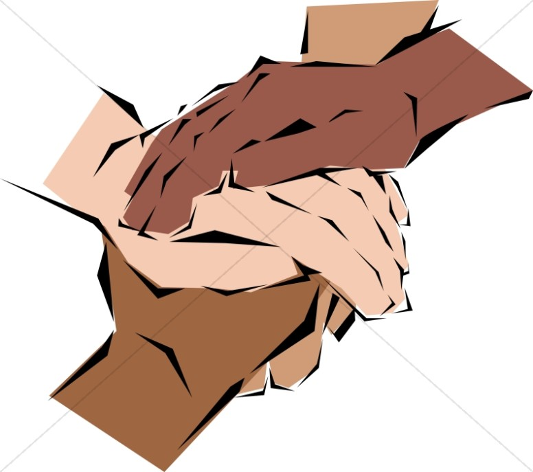 776x687 Many Hands Joined Fellowship Clipart
