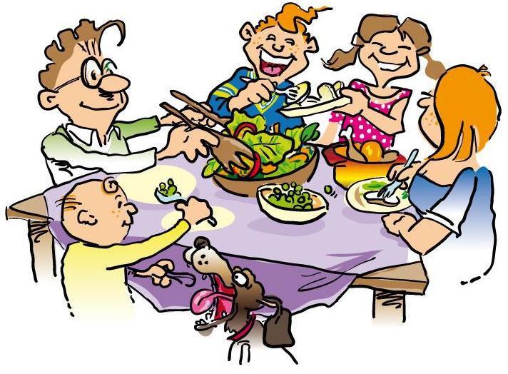 712x524 Thanksgiving Dinner Clip Art Clipartfest