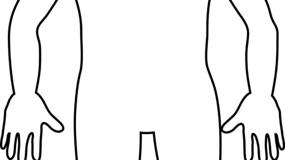 570x320 Outline Drawing Of Human Body How To Draw A Female Body 15 Steps