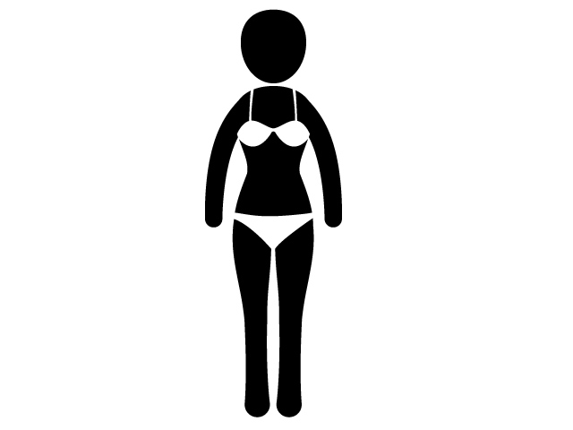 640x480 Female Style Silhouette Beauty Pictogram Illustration Free