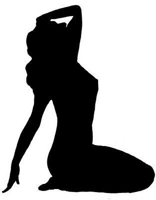 313x400 Sexy silhouette clip art Silhouette Clip Art Sexy Woman