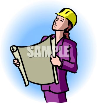 330x350 Girl Clipart Architect