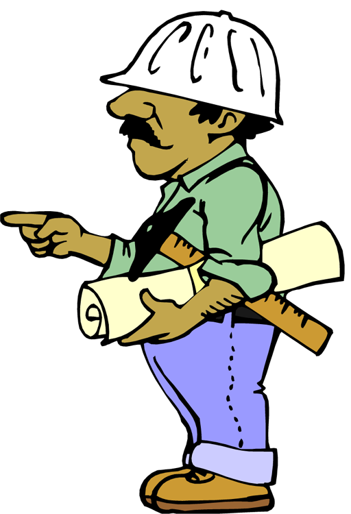512x750 Site Engineer Clipart
