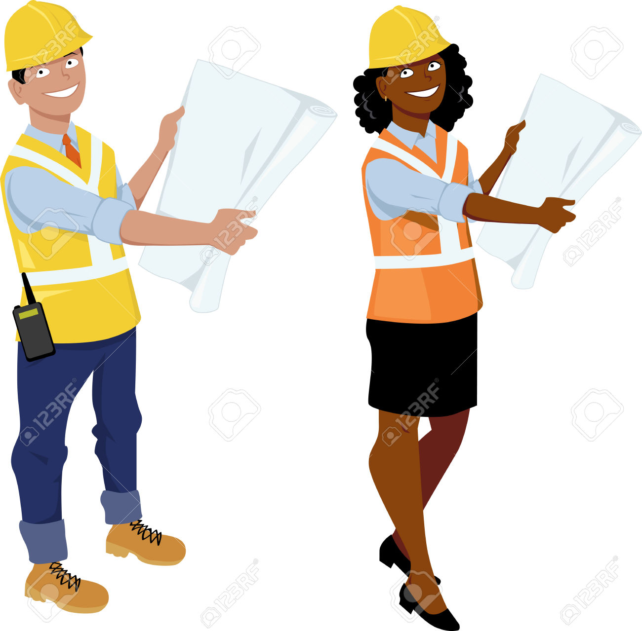1300x1279 Engineer Clipart Male
