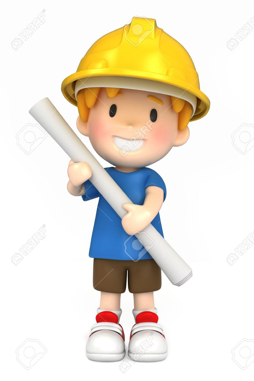 866x1300 Boy Engineer Clipart