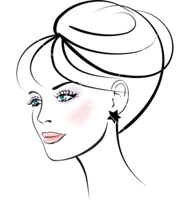 380x400 Woman Face Free Images
