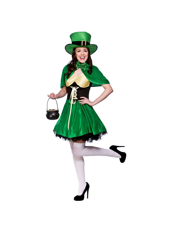 600x800 Ladies Sexy Lucky Leprechaun St Patricks Day Irish Fancy Dress
