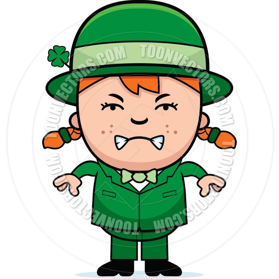 940x940 Angry Child Leprechaun By Cory Thoman Toon Vectors Eps