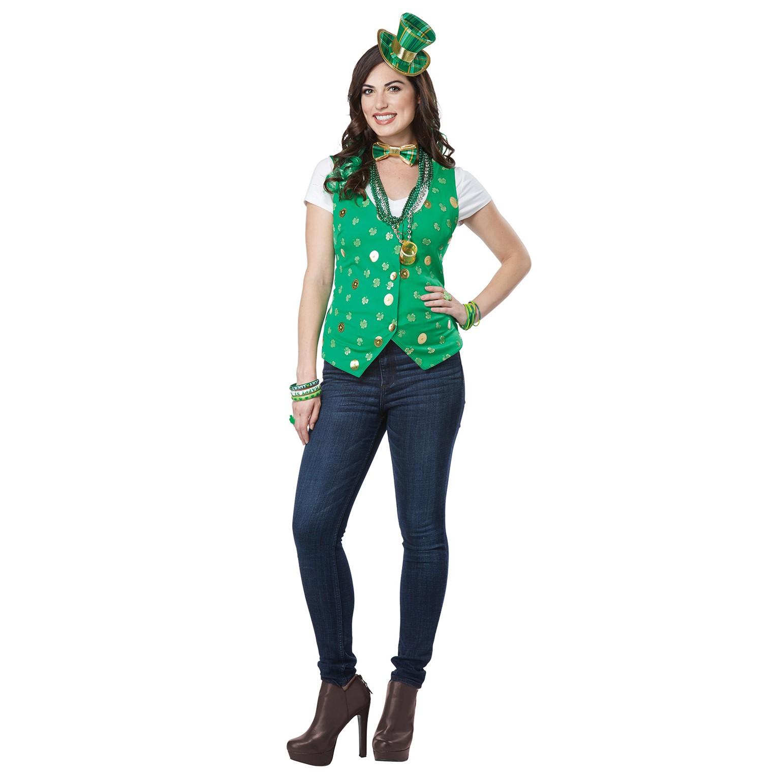 1531x1531 Womens Lucky Lady Leprechaun Costume