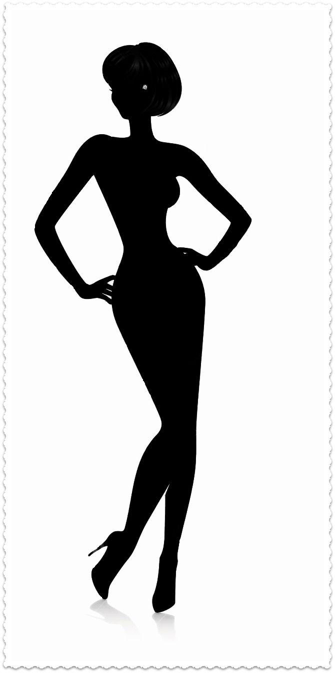 670x1344 Free Female Silhouette Clipart