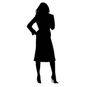 300x300 Woman Silhouette Clipart, Cliparts Of Woman Silhouette Free