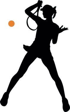 236x376 Female Silhouette Clipart Sports Winner