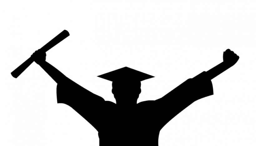 820x468 Image Of Graduation Clipart 1286 Female Silhouette Graduate