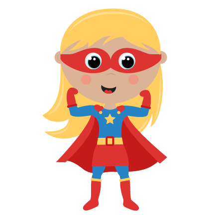 432x432 Female Superhero Clipart 2