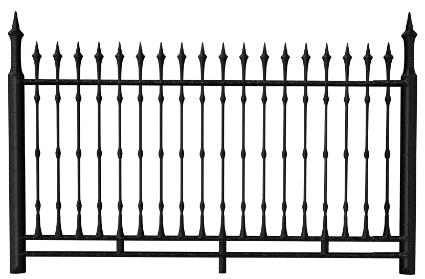 831x546 Transparent Black Iron Fence Png Clipartu200b Gallery Yopriceville