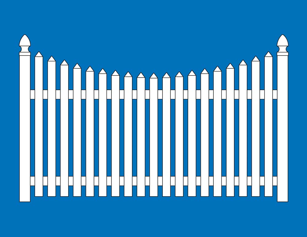 1000x773 Picket Fence Clipart Picket Fence Clipart Clip Art Library Free