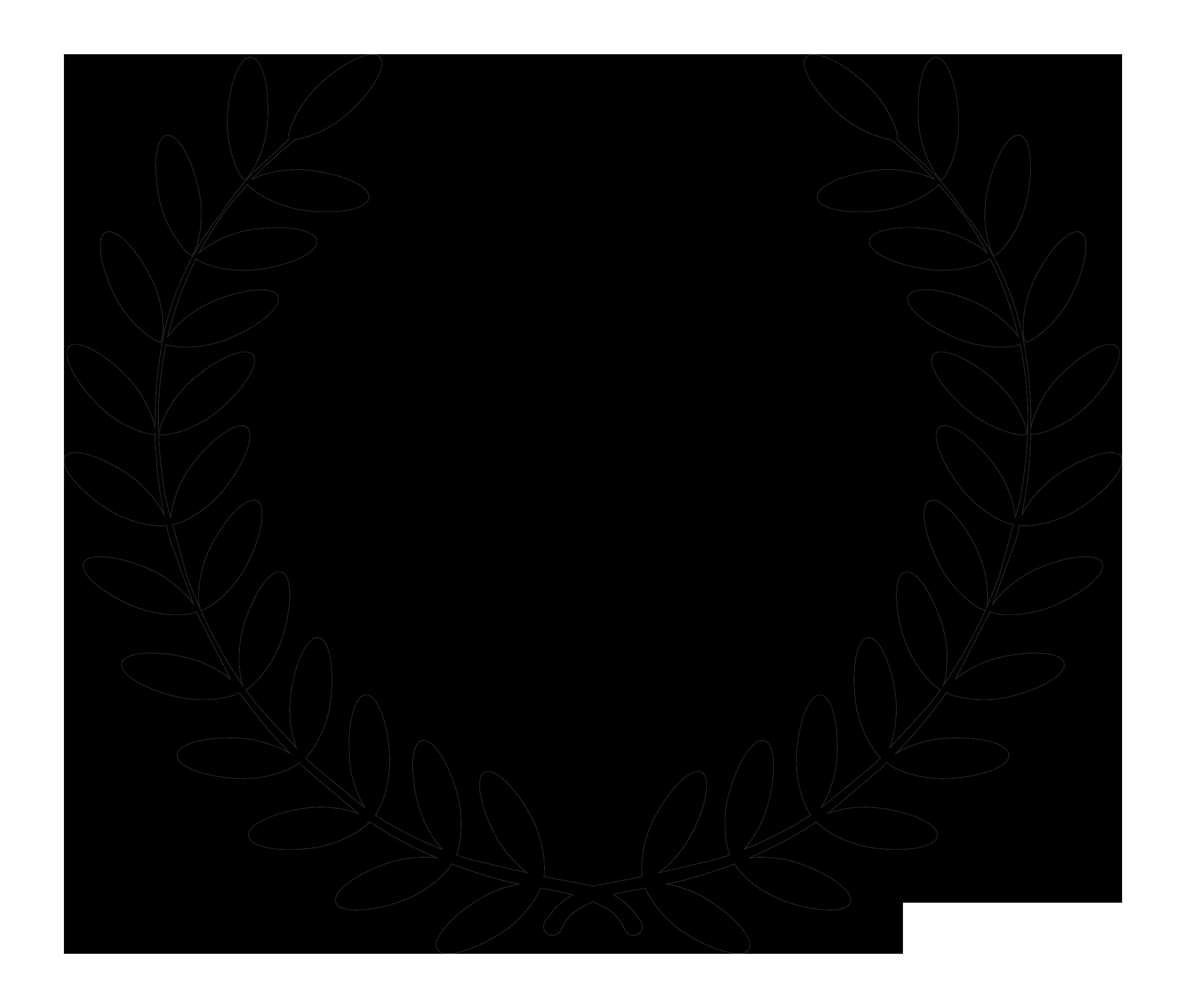 Black Flower 21st Century Op Art Set: Free Download Best Fern Leaf Clipart