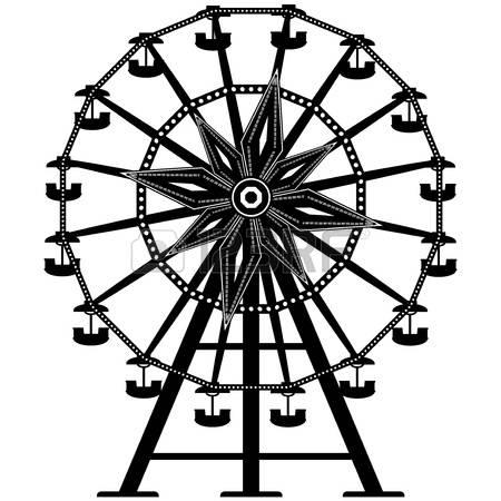450x450 Drawn Ferris Wheel Big Wheel