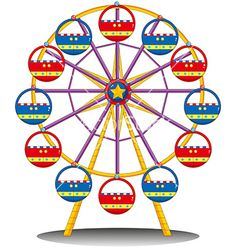 236x248 Ferris Wheel Sticker Chart Educational Tools