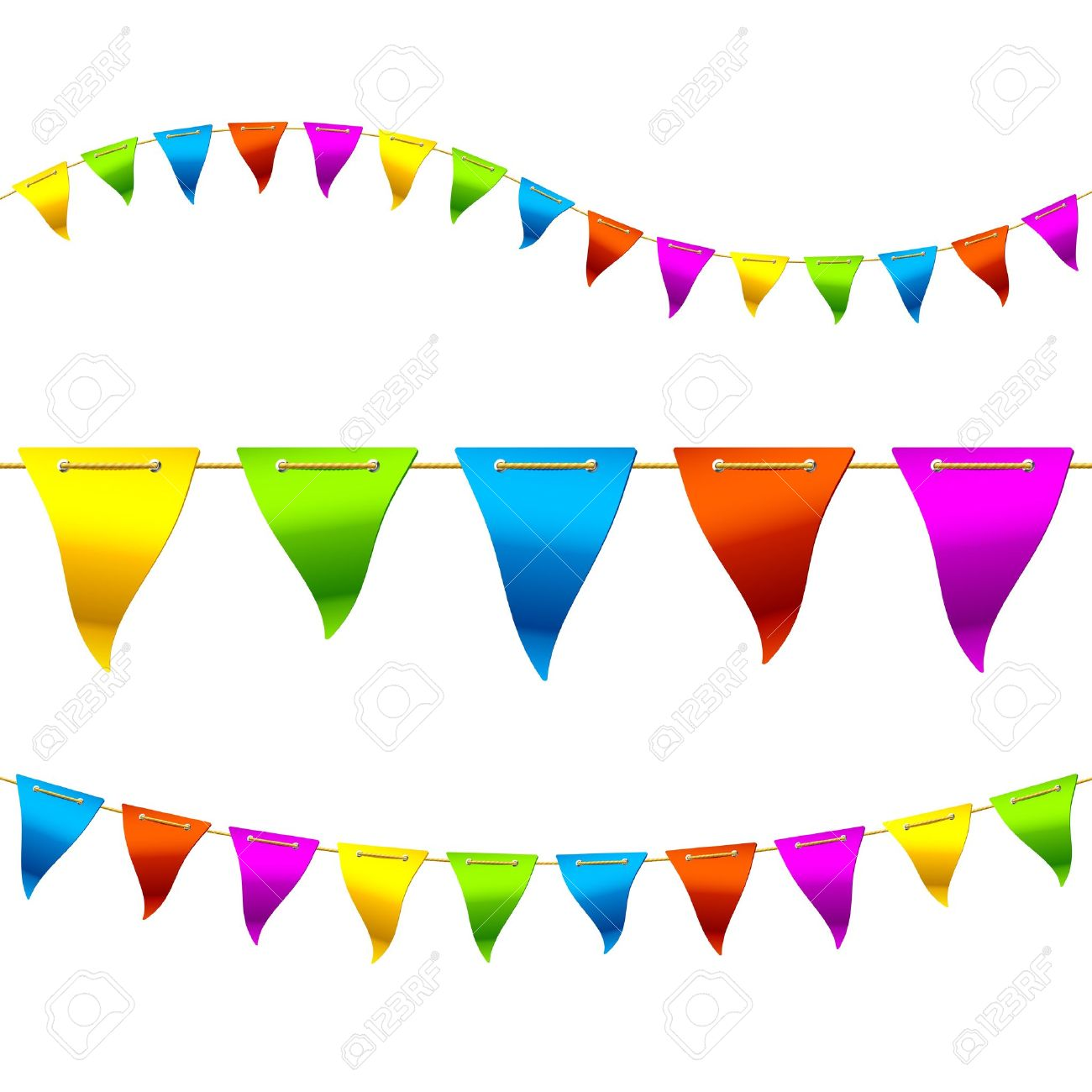 1300x1300 Bunting Clipart Festival
