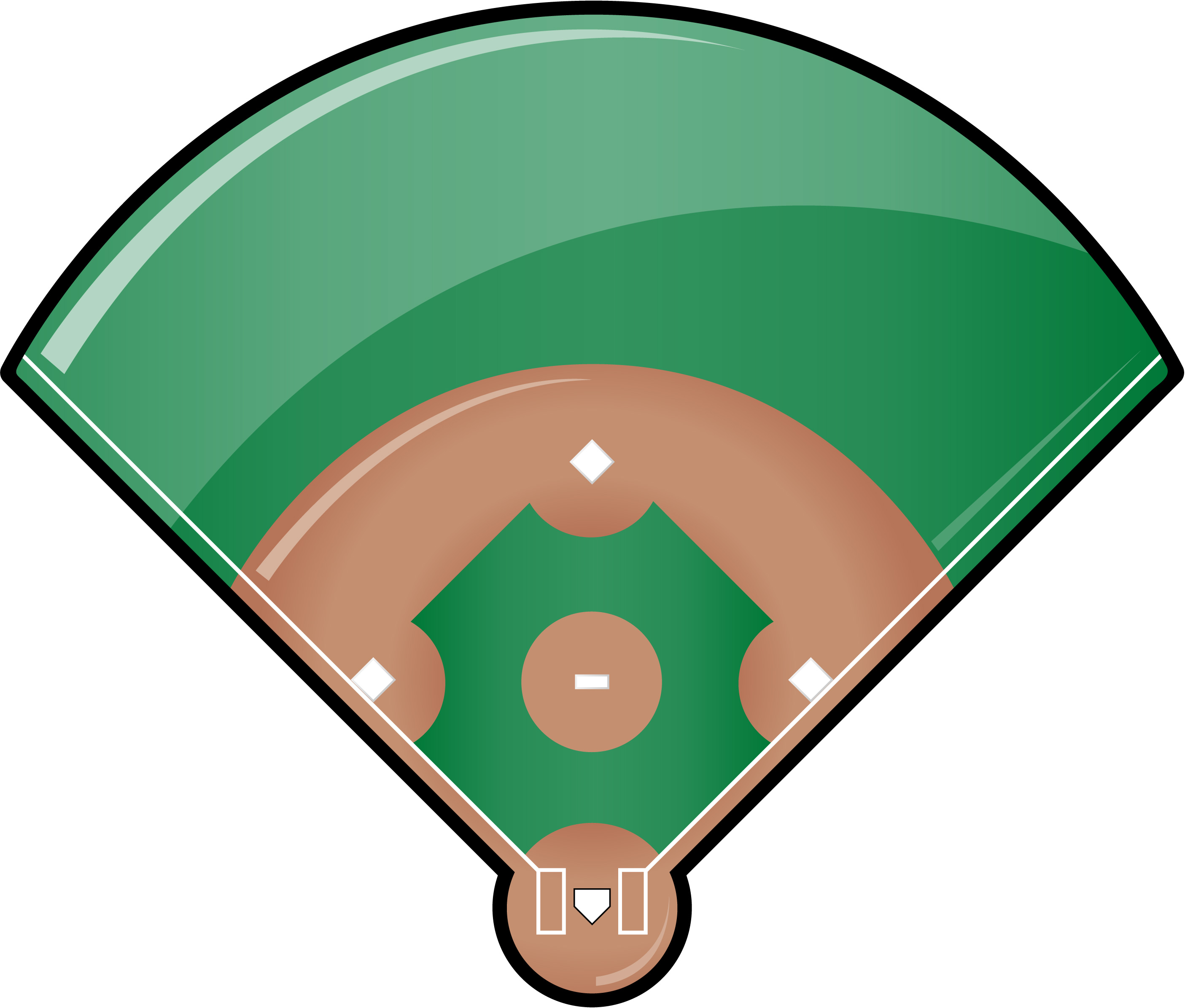 2810x2391 Baseball Field Clipart Free Images