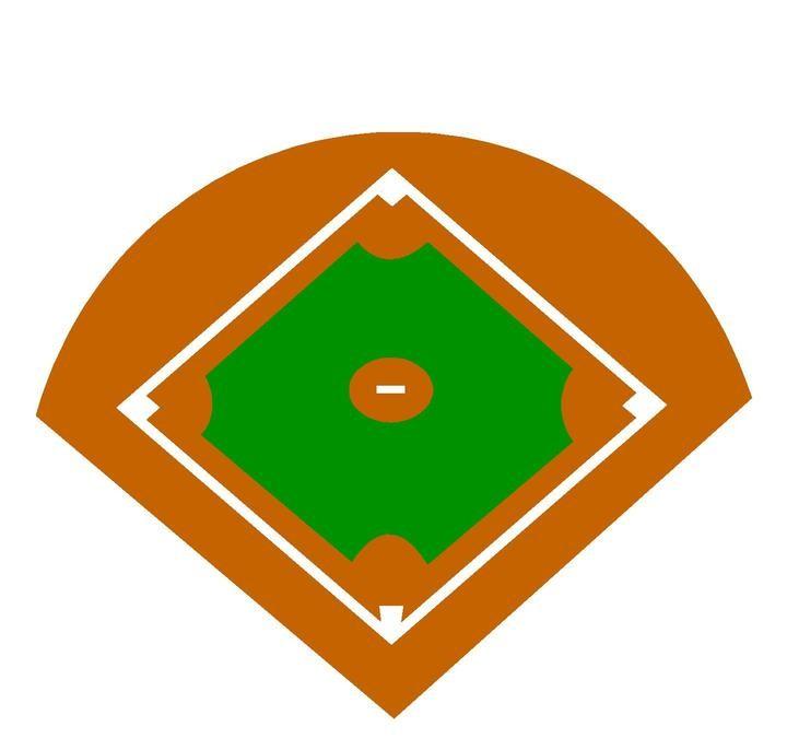 720x686 Best Baseball Field Clip Art