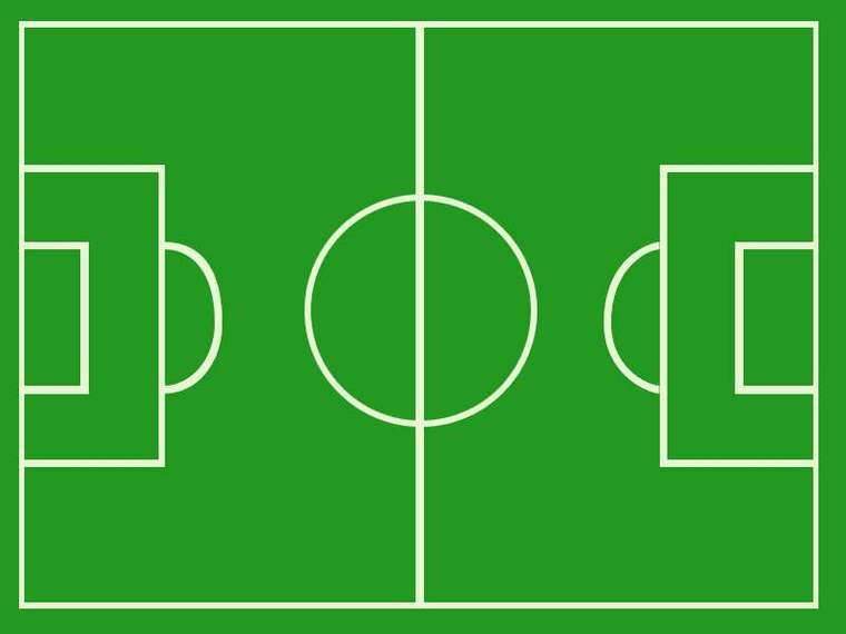 760x570 Football Field Clip Art Clipart 2