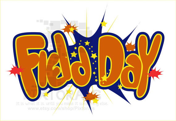 570x391 Field Day Vector Kids Clipart Comic Style Eps File