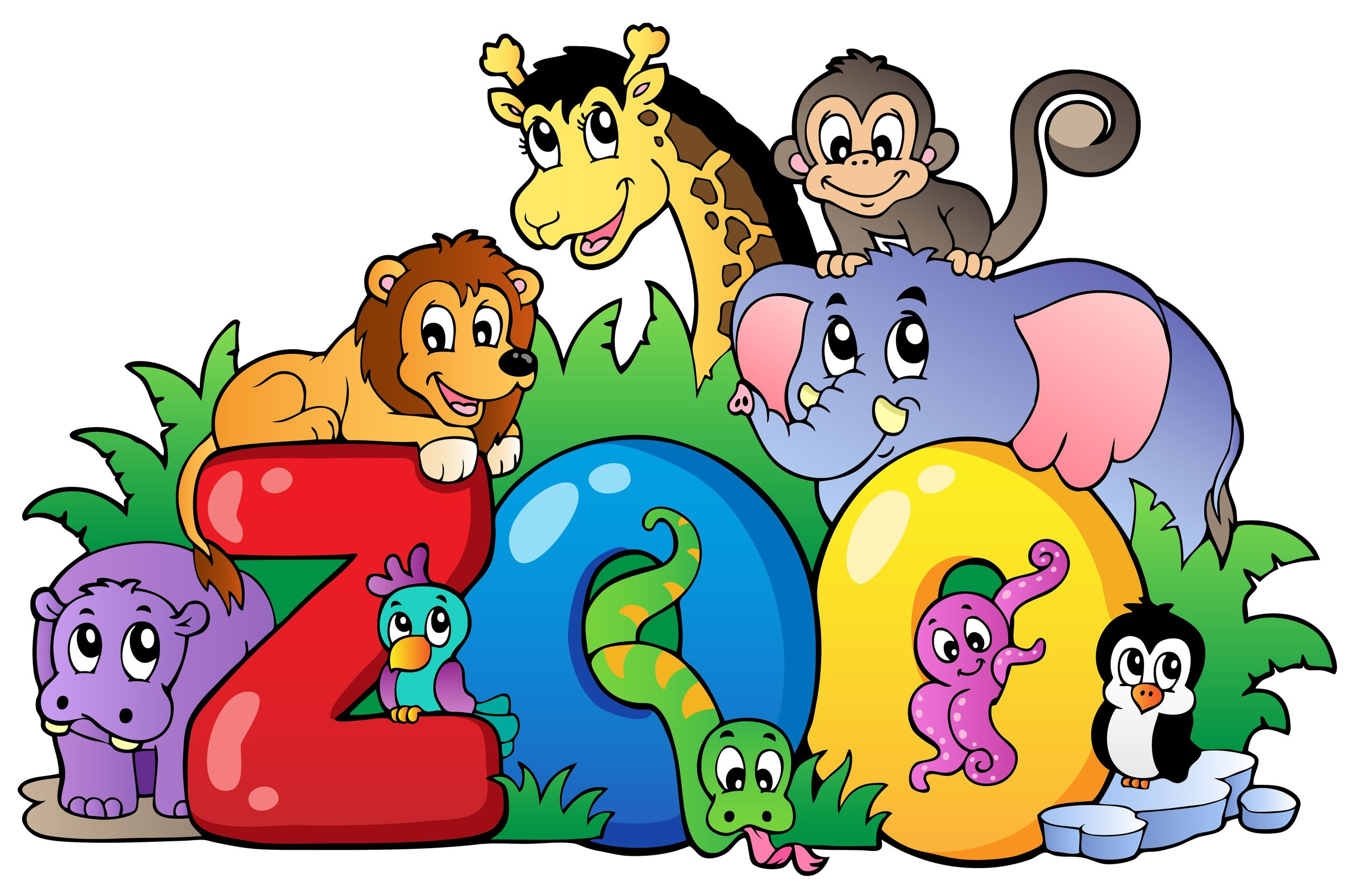 2514x1668 Zoo Field Trip Clip Art Godstyle Keywords And Pictures