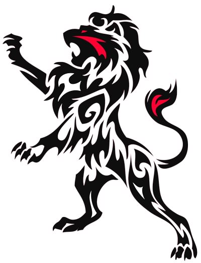 Fierce Lion Clipart