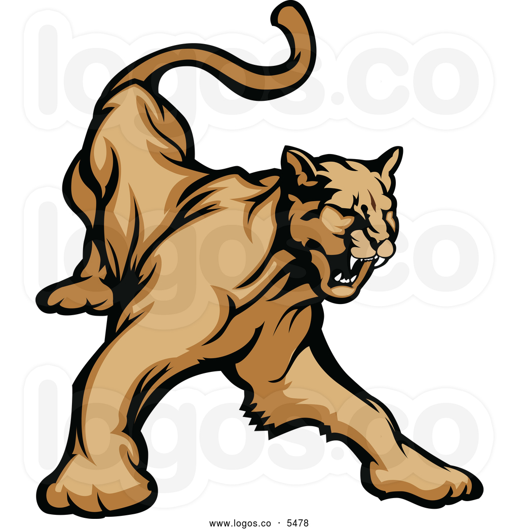 1024x1044 Clipart Cougar