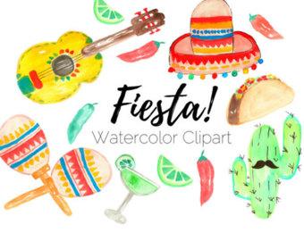 340x270 Fiesta Clip Art Etsy