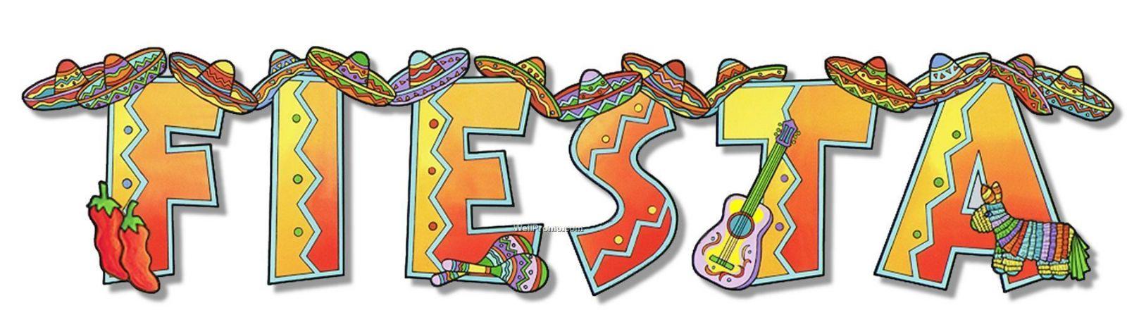 1600x474 Mexican Fiesta Border Clip Art