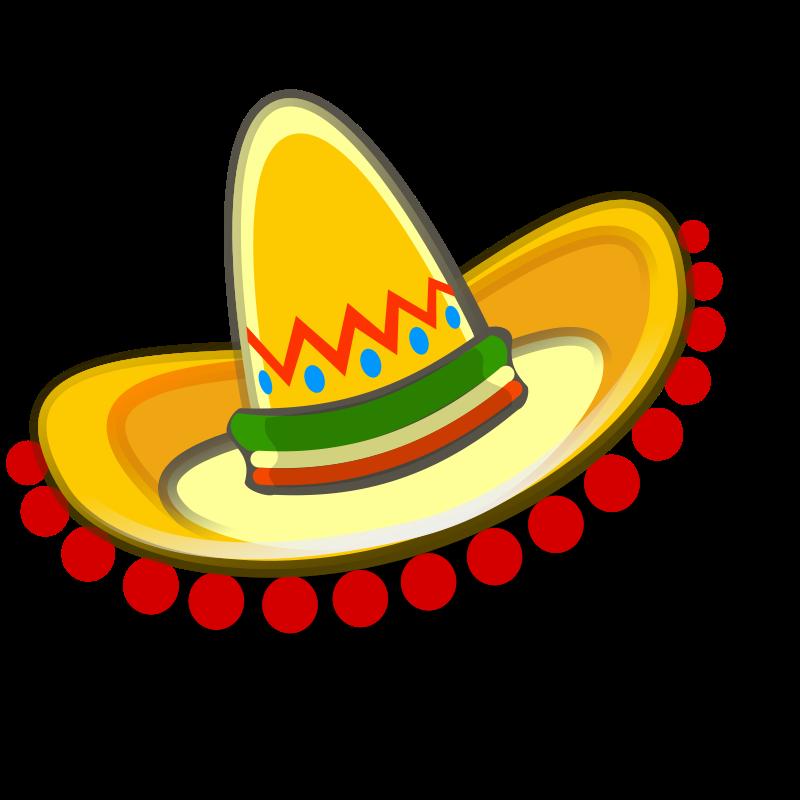 800x800 Mexican Fiesta Clip Art