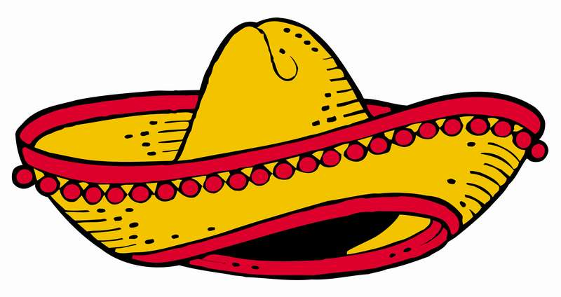 800x424 Red Mexican Fiesta Clipart Cliparthut Free