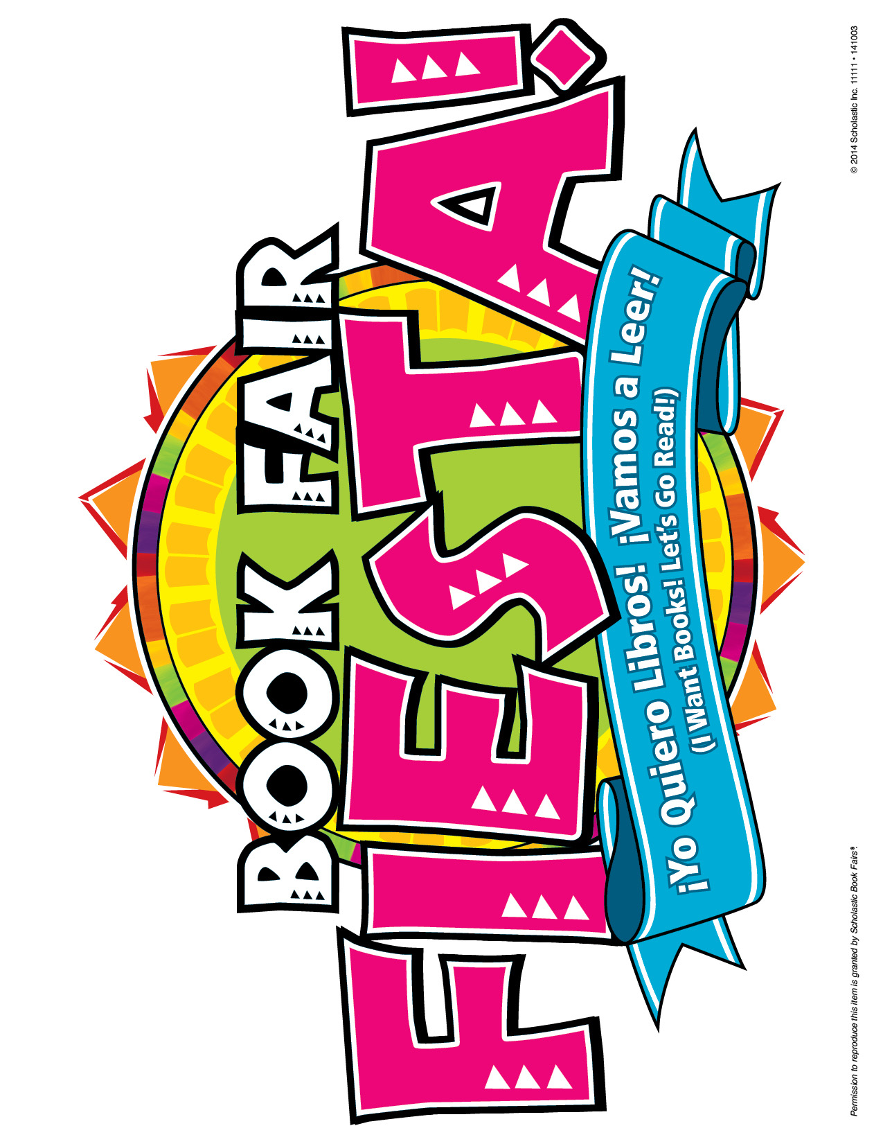 1275x1651 Book Fair Fiesta Clip Art Clipart