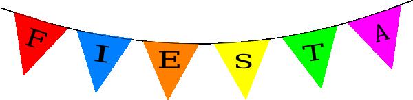 600x146 Fiesta Banner Clipart