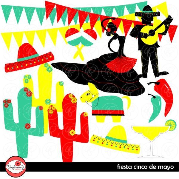 Fiesta Mariachi Cliparts