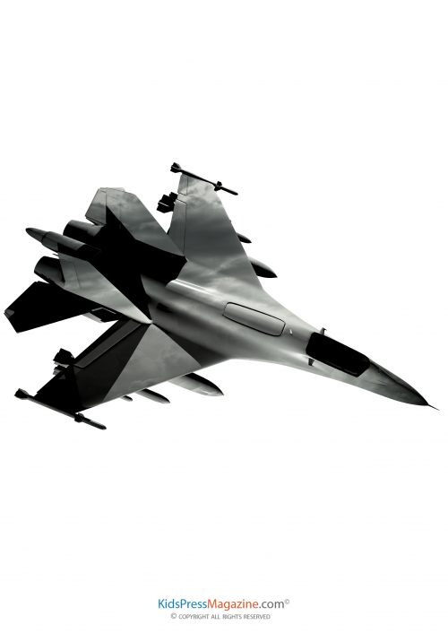 500x706 Fighter Plane Clipart 1930025