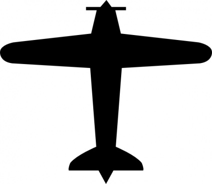 425x368 Airplane Fighter Silhouette Clip Art Vector, Free Vectors