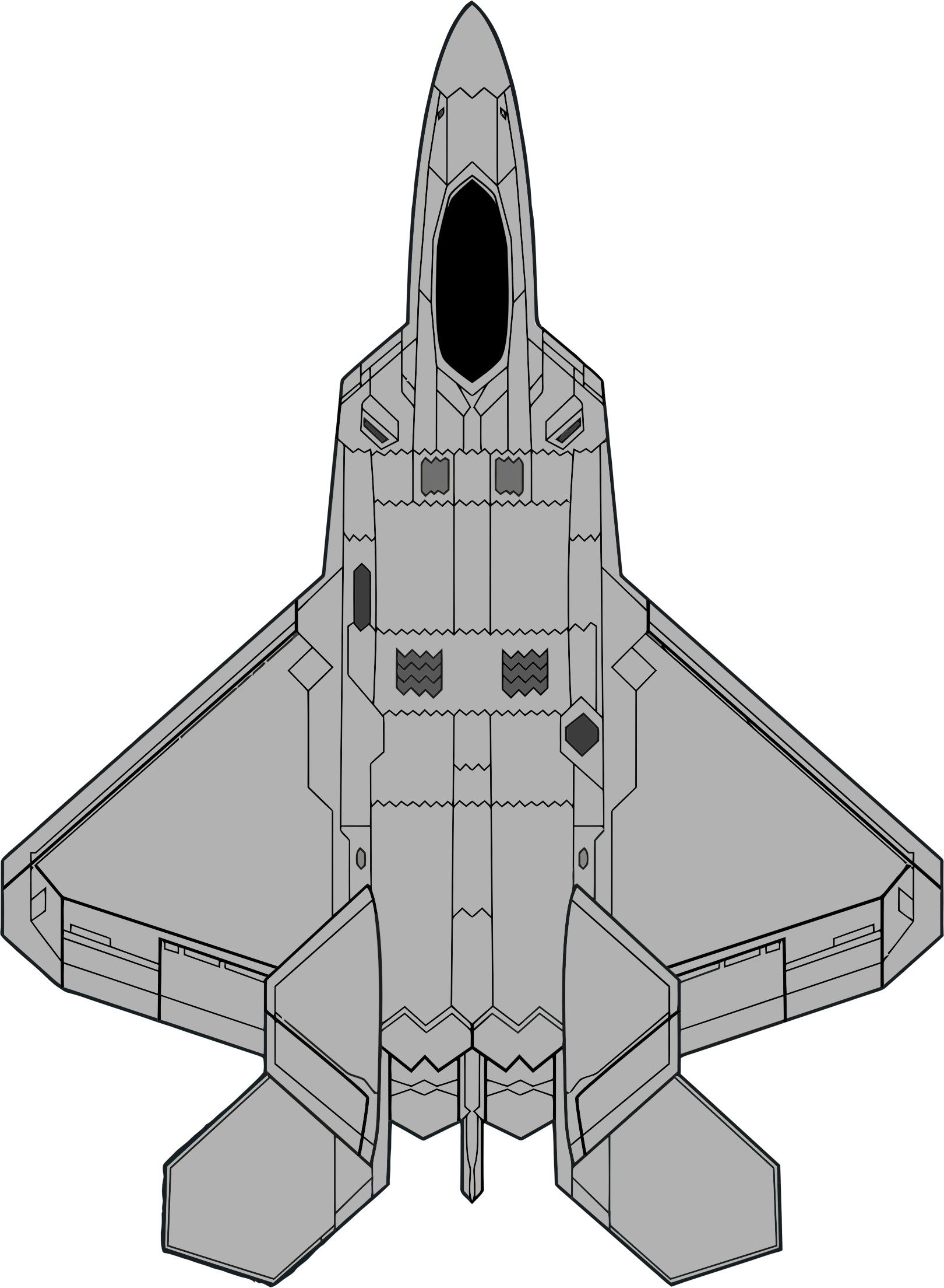 1620x2208 Brown Fighter Jet Clipart