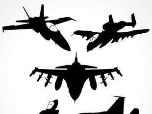 310x233 Fighter Jet Clip Art Free Vectors Ui Download