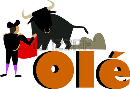 450x310 Fighting Bull Clipart